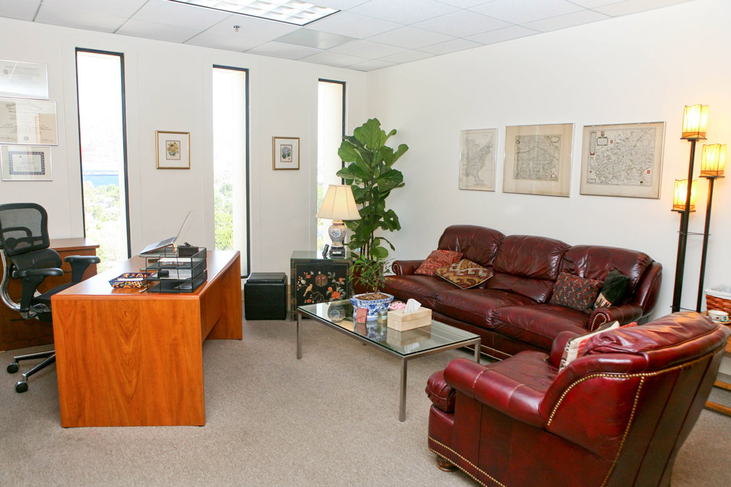 Inside Beverly Hills Psychotherapy office
