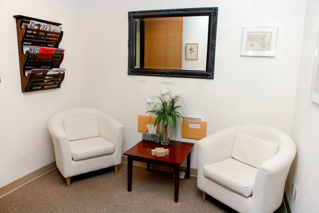 Waiting Room of Dr. Adam Cotsen West Hollywood Office Psychotherapy